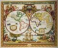 Olde World Map - Cross Stitch Kit