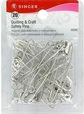 Size 3 20/Pkg Quilting & Craft Safety Pins