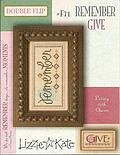 Living Double Flip - Remember/Give - Cross Stitch Pattern