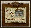 Home of a Needleworker Too! - Cross Stitch Pattern