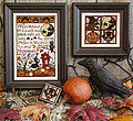 When Witches Go Riding - Cross Stitch Pattern