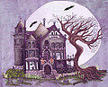 Spooky House - Cross Stitch Pattern