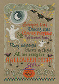 Halloween Night - Cross Stitch Pattern