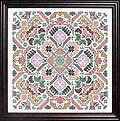 Quaker Geometric Puzzle - Cross Stitch Pattern