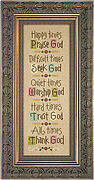 Time For God - Cross Stitch Pattern