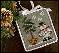 He's A Flake - Cross Stitch Pattern