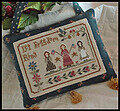 Liberty Belles - Cross Stitch Pattern