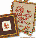French Country Squirrel - Cross Stitch Pattern