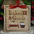 2011 Ornament 7 - Baked Goods - Cross Stitch Pattern