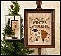 Warm Winter Woolens - Cross Stitch Pattern
