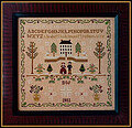 New England Winter Sampler - Cross Stitch Pattern