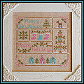 Vintage Christmas - Cross Stitch Pattern