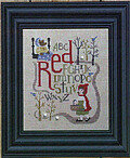 Red, Once Upon A Stitch  - Cross Stitch Pattern