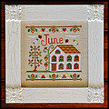 Cottage of the Month June - Cross Stitch Pattern