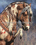 War Pony (Prindle) - Cross Stitch Pattern