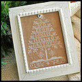 Peace Tree (with silk & button) - Cross Stitch Pattern