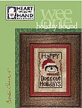 Holiday Hound - Cross Stitch Pattern