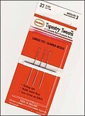 Colonial Tapestry Tweens Needles Size 21