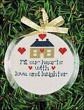 Christmas Ornament Frame - Round
