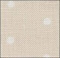 32 Count French Polka Dot Neutral Linen 9x17