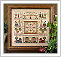 Orchard Valley Quilting Bee - Cross Stitch Pattern