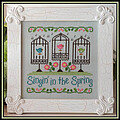 Singin in the Spring - Cross Stitch Pattern
