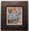 Cat and Mouse - Cross Stitch Pattern