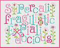 Super...docious! - Cross Stitch Pattern