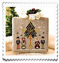 Caroling Quartet - Cross Stitch Pattern