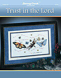 Trust in the Lord - Cross Stitch Pattern