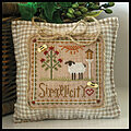 Simplicity (Little House Virtues) - Cross Stitch Pattern