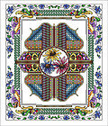 Celtic April - Cross Stitch Pattern