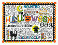 Let's Trick or Treat - Cross Stitch Pattern