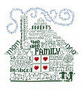Let's Be Family - Cross Stitch Pattern