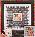 Black Lace Sampler - Cross Stitch Pattern