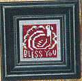 Autumn Spice + White - Cross Stitch Pattern (beads included)