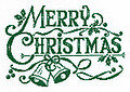 Green Christmas - Cross Stitch Pattern