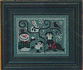 Oodles of Winter (w/charms) - Cross Stitch Pattern