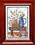 Country Bench - Cross Stitch Pattern