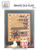 Grand Old Flag - Cross Stitch Pattern