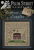 Crowned Bird Sampler - Cross Stitch Pattern