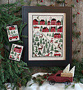 Christmas Tree Farm - Cross Stitch Pattern