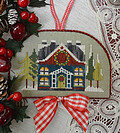Wreath House - Cross Stitch Pattern