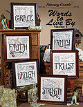 Words to Live By 3 - Cross Stitch Pattern