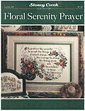 Floral Serenity Prayer - Cross Stitch Pattern