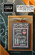 Year in Chalk February - Cross Stitch Pattern