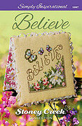 Believe (Simply Inspirational) - Cross Stitch Pattern