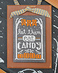 Year in Chalk October - Cross Stitch Pattern