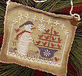 Snow Birds in Tow - Snowman Ornament 2015