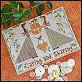 Caring And Sharing - Cross Stitch Pattern